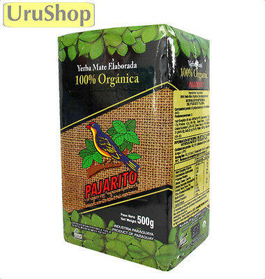 Y177 Organic Yerba Mate Pajarito 500g Herbal Tea to aid weight loss Organica