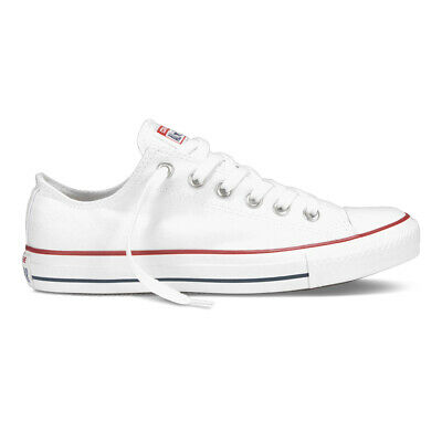 Converse Chuck Taylor OX All Star Herren Damen Sneaker Schuhe Optic Weiß
