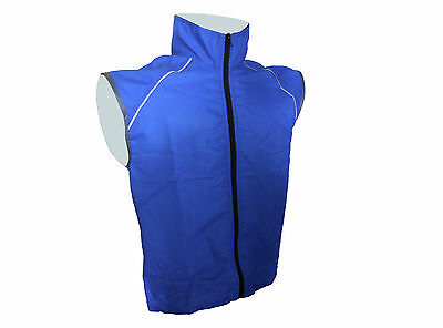 Wind Vest Mens Blue MEN-325