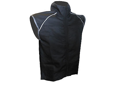 Wind Vest Mens Black Small only (larger fit) MEN-325