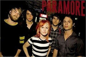 PARAMORE POSTER ~ STRIPES GROUP 24x36 Music Rock Hayley Williams