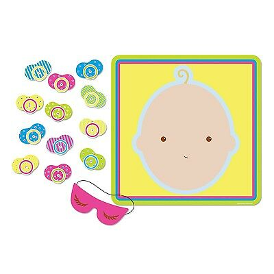 Baby Shower Pin The Pacifier Dummy On The Baby Game Fun Party Activity