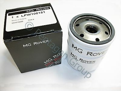 New Genuine OE MG ROVER 25 45 MG ZR PETROL 1.4 , 1.6   OIL FILTER LPW100181