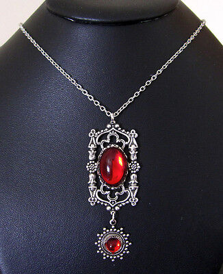 Gothic Cathedral VICTORIAN Filigree RENAISSANCE Medieval Necklace/Pendant Silver