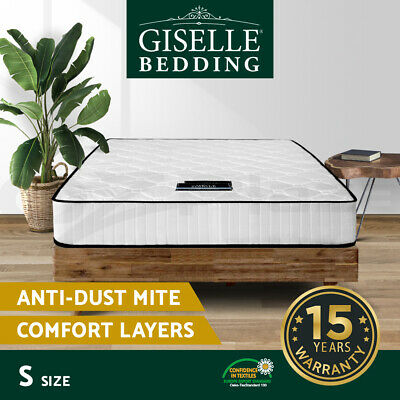 Luxury Single Size Mattress Pocket Spring High Density Foam for Bed Bedding