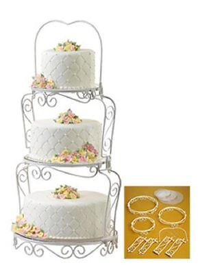 Graceful Tiers Display Cake Stand from Wilton #841 New