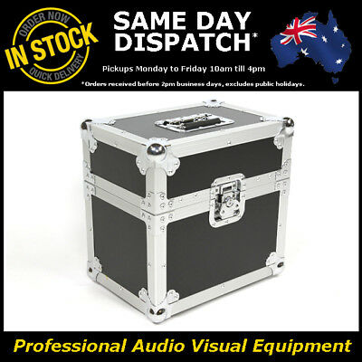 Holds 12 Microphone Mic Cable Flight Road Hard Brief Case Roadcase Flightcase