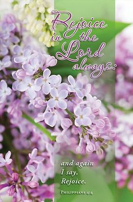 Rejoice in the Lord Always (Philippians 4:4) Bulletins, 100