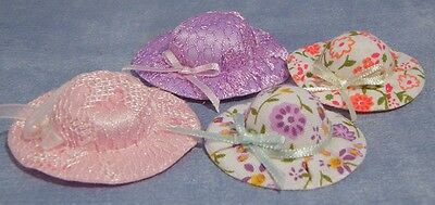 Dolls House 1/12 Scale  Hats Set Of 4