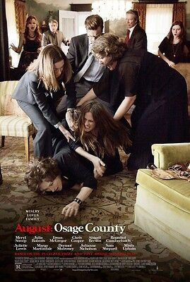 August Osage County - original DS movie poster - 27x40 D/S - 2014