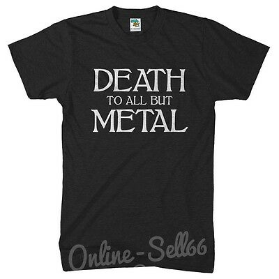Death To All But Metal Banned Member UNISEX VEST singlet birthday music band