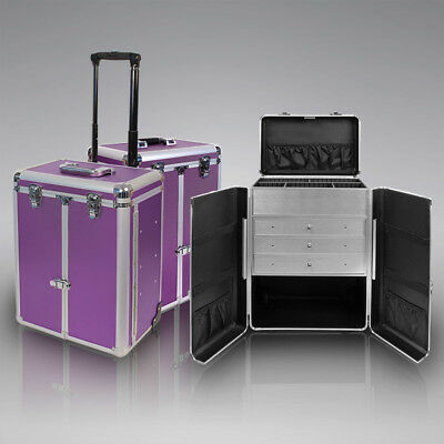 Friseur Kosmetik Koffer Trolley Schmink Schrank H= 54cm Sortiment Beauty Center