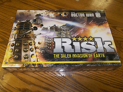 DOCTOR WHO RISK The Dalek Invasion of Earth!  New + Still Sealed!!