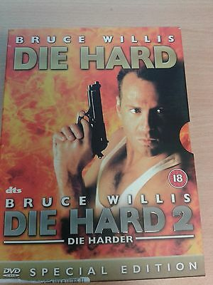 DVD Film  * DIE HARD DOUBLE SPECIAL EDITION COLLECTION *