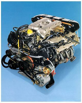 1987 Porsche 928 928S4 Engine Photo Poster zc7177-54AFYH
