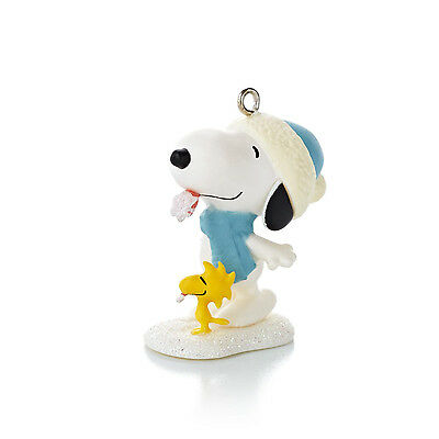 Hallmark Miniature Series Ornament 2013 Winter Fun with Snoopy #16 - #QXM8505