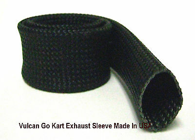 "Go Kart Heat Treated Exhaust Sleeve Thermal Sleeve 1"" X 18"" – Made In USA"