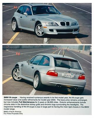 2000 BMW M Coupe Automobile Photo Poster zch5245