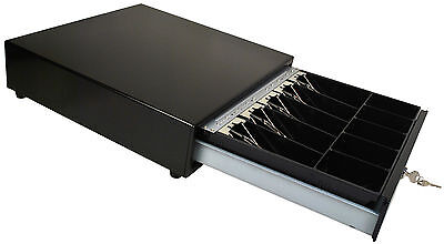 "Square Compatible Cash Drawer J-423-B All Black  ""NEW"""