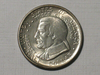 1936 CLEVELAND CENTENNIAL GREAT LAKES EXPO - HALF DOLLAR US COMMEMORATIVE COIN