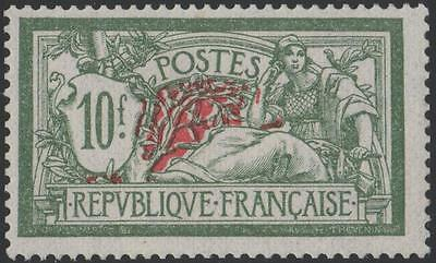 "FRANCE STAMP TIMBRE N° 207 "" TYPE MERSON 10 F VERT ET ROUGE "" NEUF xx SUPERBE"