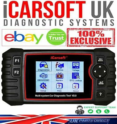 Land Rover Discovery 2 Diagnostic Scan Tool Fault Code Reader - iCarsoft i930
