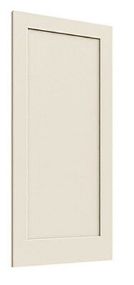 Madison 1 Panel Primed Smooth Solid Core Molded MDF Wood Interior Doors Prehung