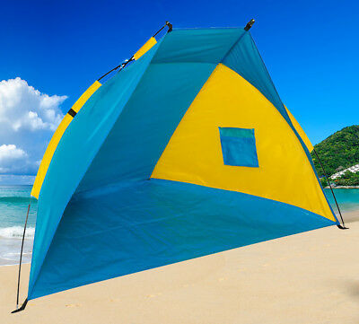 Beach Shelter Tent Canopy Uv Sun Protection Shade Camping Fishing Festival Tent