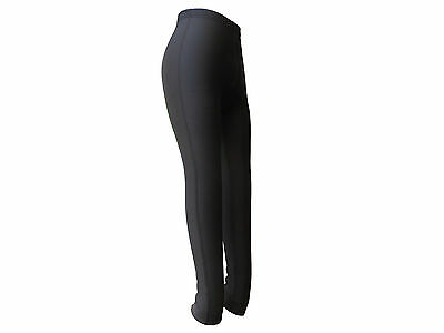 Tights Womens Winter Fleece Basic Black Padded Goodstar GS156