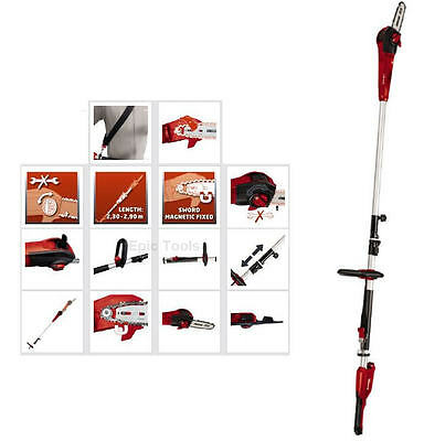 Einhell 710w Electric Telescopic Extending Pole Tree Pruner/Chainsaw, GE-EC720T