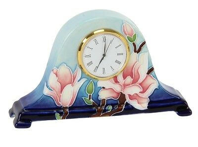 Old Tupton Ware TW7917 Magnolia Bloom Mantel Clock NEW  20206