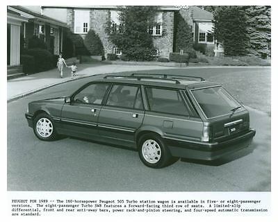 1989 Peugeot 505 Turbo Station Wagon Photo Poster zch5449