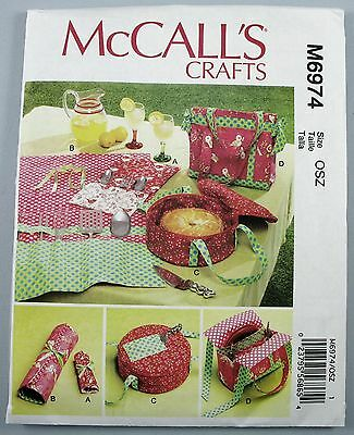 MCCALLS CRAFTS PATTERN M60 Camping Items Utensil Holders Food Extraordinary Mccalls Craft Patterns