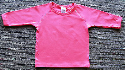 BONDS Baby Stretchies Cotton & Lycra Long Sleeve Top sizes 000 00 Colour Pink
