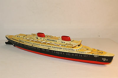 1950's CKO Germany Windup Ship, Nice Original