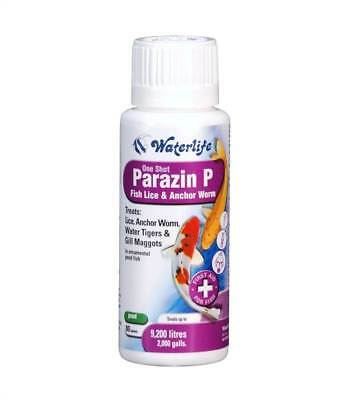 Waterlife Parazin P 80 Tablets - Fish Lice, Anchor Worm