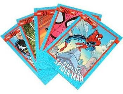 The Amazing Spiderman 30th Anniversary Trading Card Preview Set from Impel