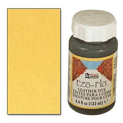 Eco-Flo Sunshine Yellow Dye 4 oz. (118 ml) 2600-16 by Tandy Leather