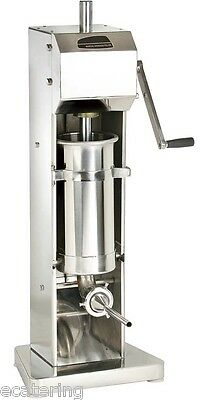 3ltr Stainless Steel Sausage Stuffer / Filler / Maker. Lowest Price In The UK