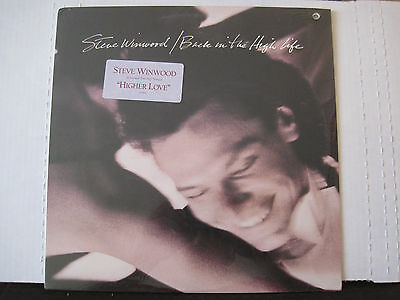 POP ROCK/ Steve Winwood - Back In The High Life (LP) Sealed