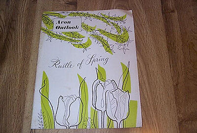 Avon Outlook - Rustle Of Spring - Campaign No 5  ILLUS 1954   Perfume Lipstick