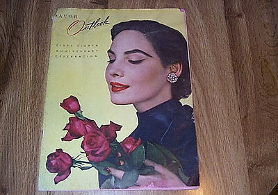 Avon Outlook - 68th Anniversary Celebration - Campaign No 9 ILLUS 1954