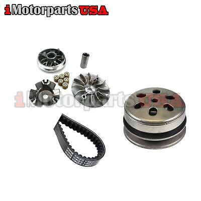 Transmission Rebuild Kit Carter Talon 150 Go Kart Clutch Pulley Premium Hq Belt
