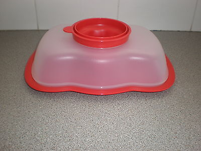 Tupperware jelly jel ring with serving tray rectangle New