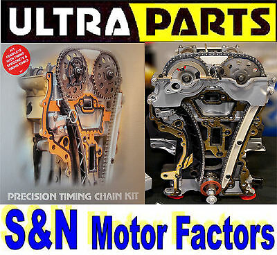 Timing Chain Kit - fits Ford - Fiesta - Ka - 1.3 [Rocam] TK83F + Gears & Gaskets