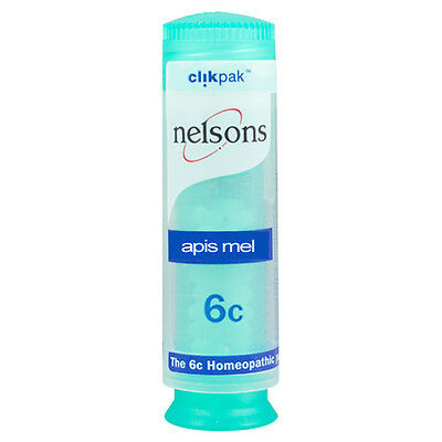 Nelsons Apis Mel- Choice of 6c or 30c Homeopathy (One Supplied)
