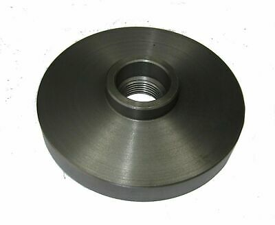 "Rdgtools 125Mm Diameter Lathe Chuck Backplate 1-1/2"" X 8Tpi Boxford Thread"
