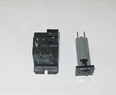 Relay and Circuit Breaker for Club Car 48 Volt Charger
