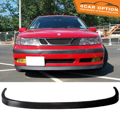 Fits 97 10 SAAB 9 5 OE Style Poly Urethane PU Front Bumper Lip