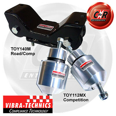 2 x Toyota Supra 93-02 Vibra Technics Diff Mount Front Bush Road /& Race TOY130M